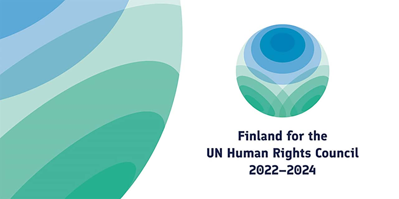 Finland for the UN Human Rights Council 2022-2024